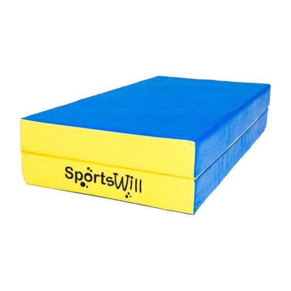 800-Мат-SportsWill-100-х-100-х-10-скл-син