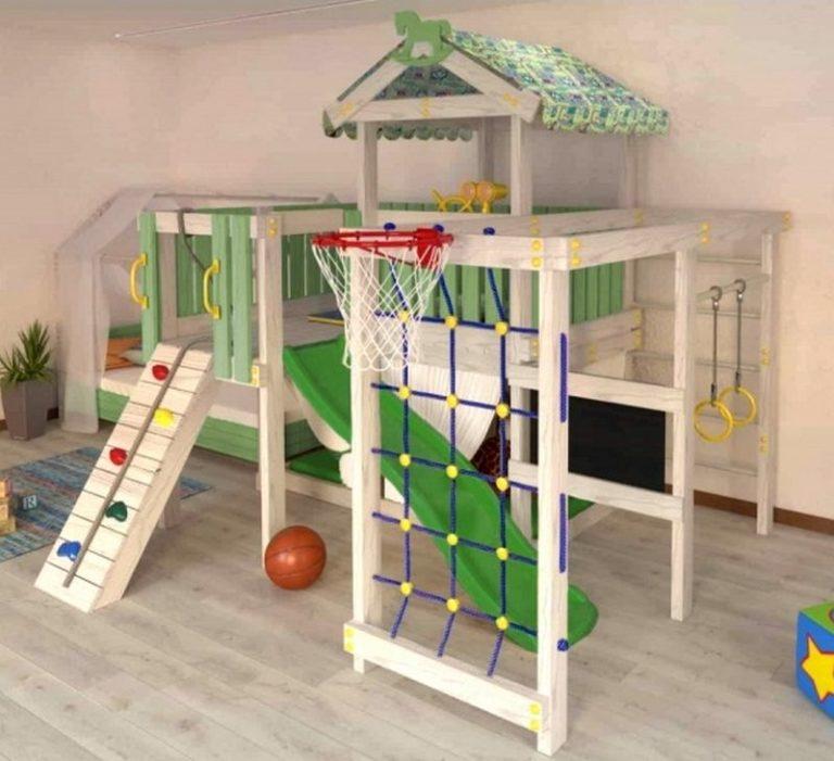 Детский игровой комплекс чердак ДК3б1