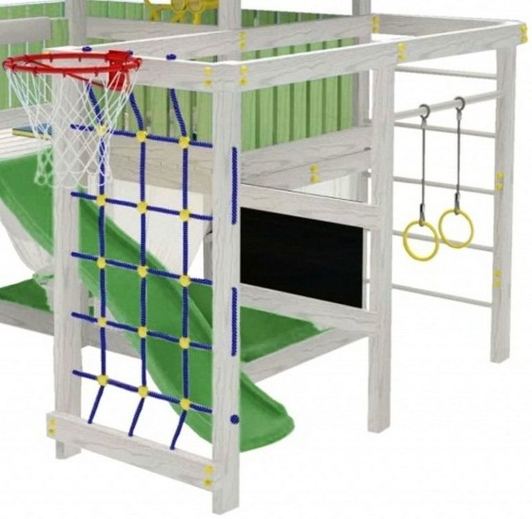 Детский игровой комплекс чердак ДК3б2