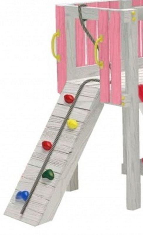 Детский игровой комплекс чердак ДК3р2