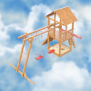 Детская игровая площадка Сибирика с рукоходом