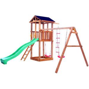 Детская площадка Можга Спортивный городок 1 крыша тент с качелями