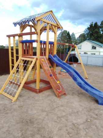 Детская площадка Савушка 11 фото