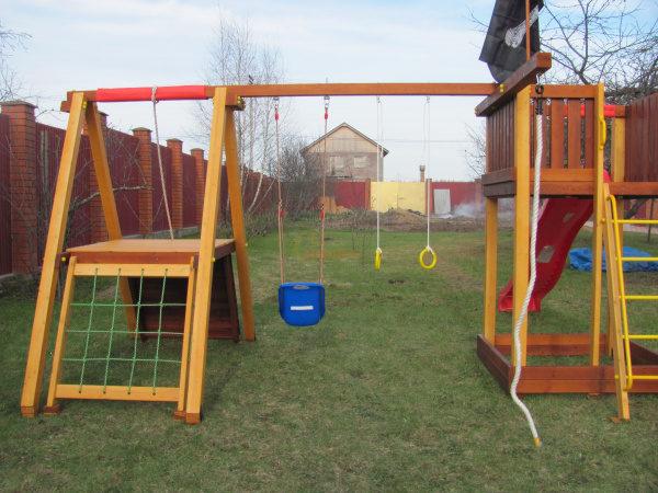 Детская площадка Савушка 3 фото1
