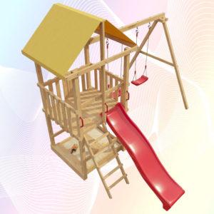 Детская площадка для дачи 3-й Элемент