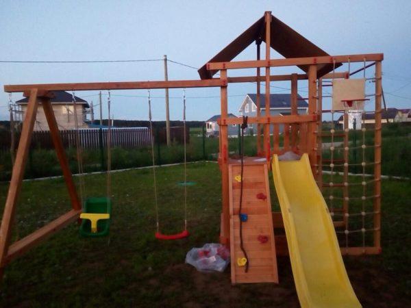 Детская игровая площадка Сибирика спорт фото1