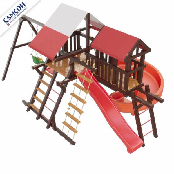 Детская игровая площадка Таити Люкс