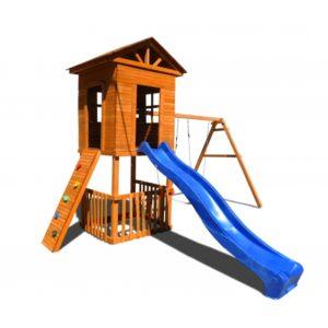 Детская площадка Можга Спортивный городок Избушка с узким скалодромом