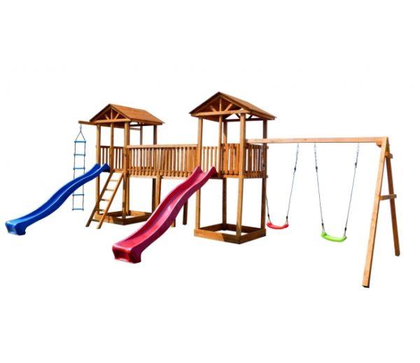 Детская площадка Можга Спортивный городок 6 с качелями