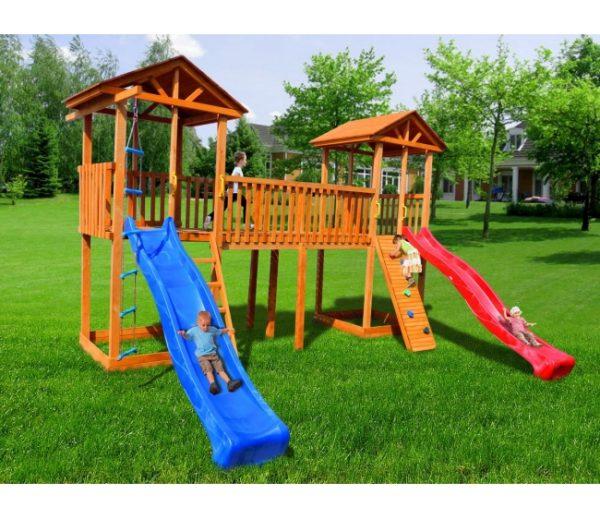 Детская площадка Можга Спортивный городок 6 с узким скалодромом