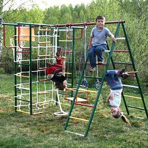 Детские площадки для дачи из металла