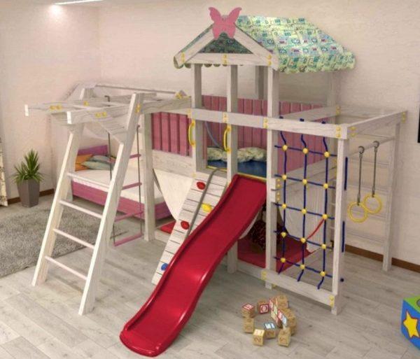 Детский игровой комплекс чердак ДК2