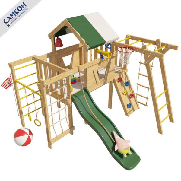 Детский игровой комплекс-чердак Патрик
