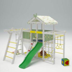 Детский игровой комплекс-чердак САВУШКА BABY - 4