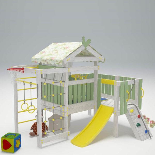 Детский игровой комплекс-чердак САВУШКА BABY - 7