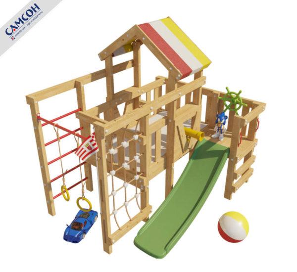 Детский игровой комплекс-чердак Соник