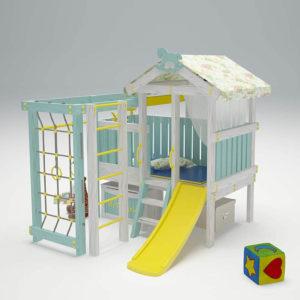 Детский игровой комплекс-чердак САВУШКА BABY - 1