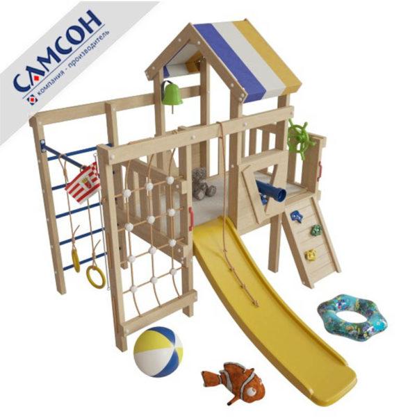 Детский игровой комплекс-чердак Немо
