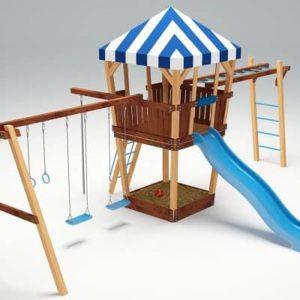 Детский игровой комплекс для дачи Савушка 13
