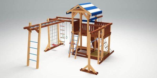 Детский игровой комплекс для дачи Савушка 16