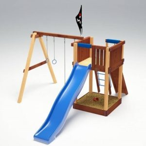 Детский игровой комплекс для дачи Савушка 2