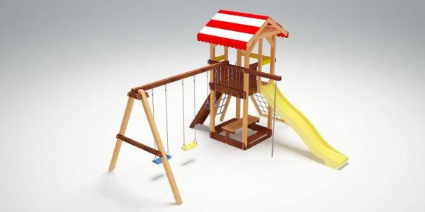 Детский игровой комплекс для дачи Савушка 9
