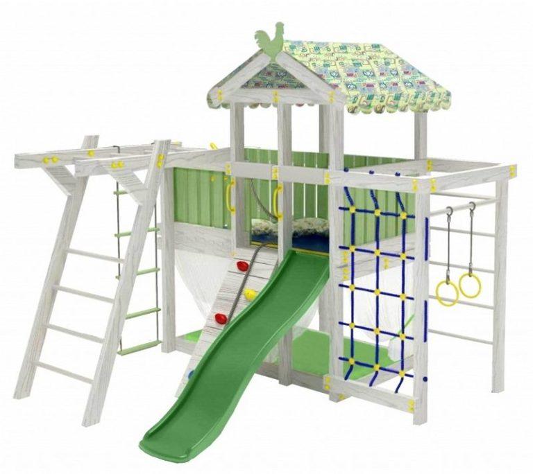 Детский игровой комплекс чердак ДК2б1