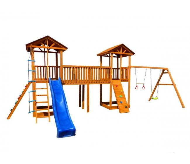 Детская площадка Можга Спортивный городок 7 с качелями