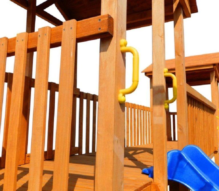Детская площадка Можга Спортивный городок 7 с узким скалодромом26