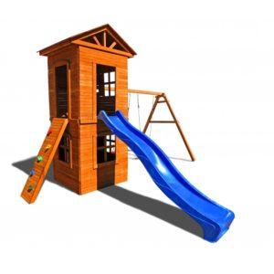 Детская площадка Можга Спортивный городок 8 с узким скалодромом