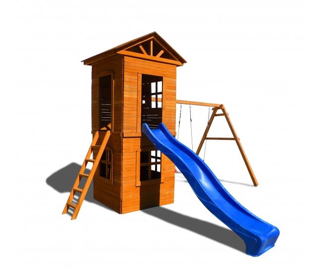Детская площадка Можга Спортивный городок 8 с узкой лестницей