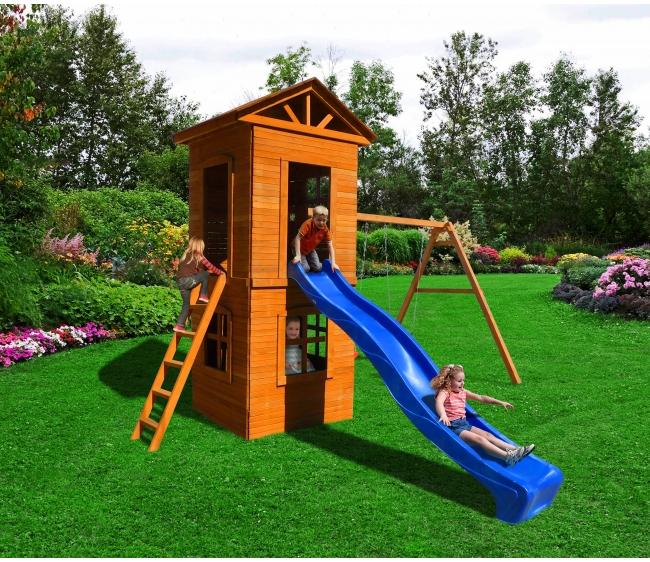 Детская площадка Можга Спортивный городок 8 с узкой лестницей10