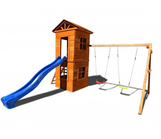 Детская площадка Можга Спортивный городок 8 с узкой лестницей2