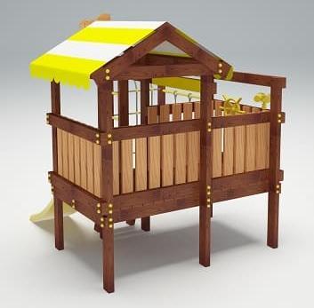 Детский игровой комплекс для дачи САВУШКА BABY PLAY - 1