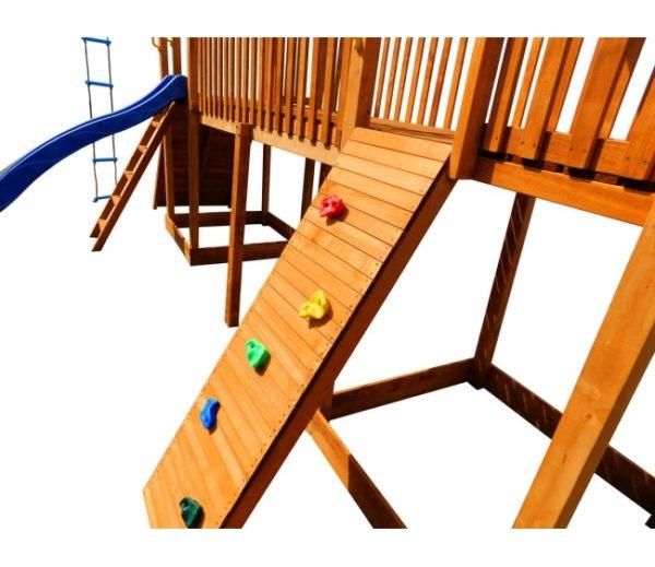 Детская площадка Можга Спортивный городок 7 с качелями и двумя скалодромами