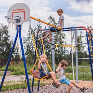Детские площадки для дачи до 50 тыс. руб.