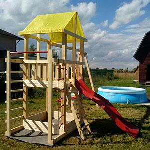 Детские площадки для дачи от 50 до 100 тыс. руб.