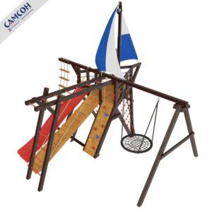 Детская игровая площадка фрегат_