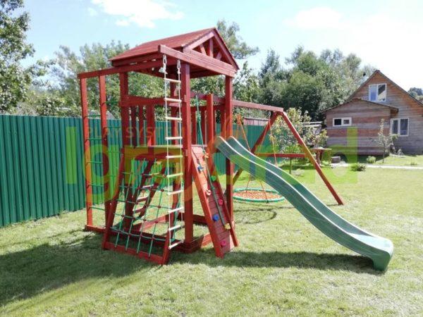 Детская площадка IgraGrad Панда Фани Fort с сеткой
