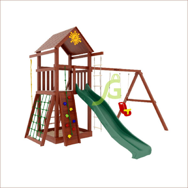 Детская площадка IgraGrad Панда Фани Gride1