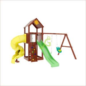 Детская площадка IgraGrad Панда Фани с винтовой трубой1