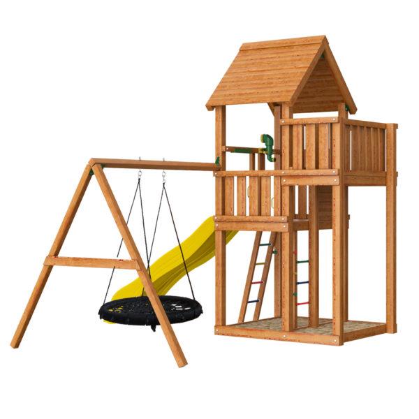 Детская площадка Jungle Palace + Swing X'tra c гнездом1