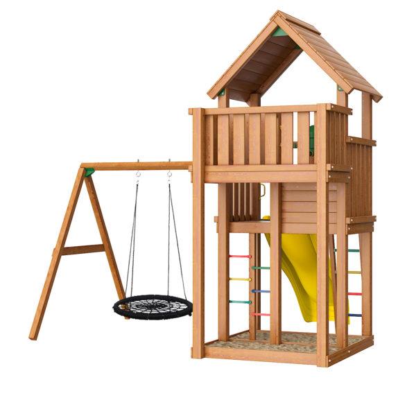 Детская площадка Jungle Palace + Swing X'tra c гнездом2