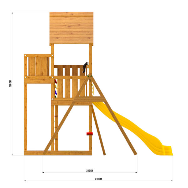 Детская площадка Jungle Palace + Swing X'tra c гнездом4