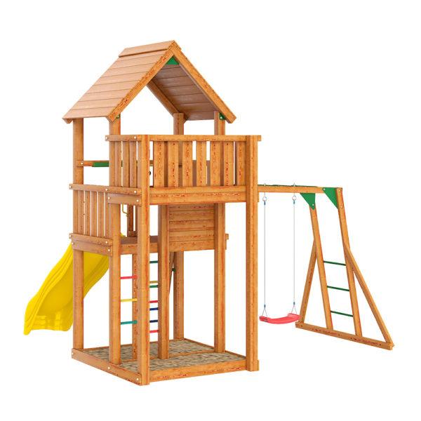 Детские городки Jungle Palace + Рукоход с сидушкой1
