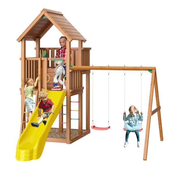 Детские городки Jungle Palace + Swing X'tra
