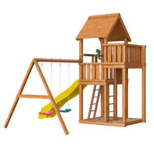 Детские городки Jungle Palace + Swing X'tra1