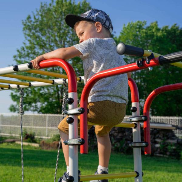 Детский спортивный комплекс для дачи ROMANA Акробат - 2_3