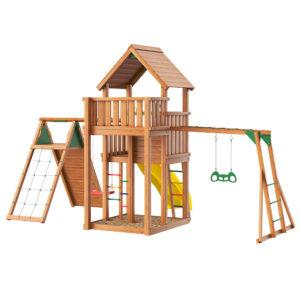 Jungle Palace + climb + Рукоход с гимнастическими кольцами2