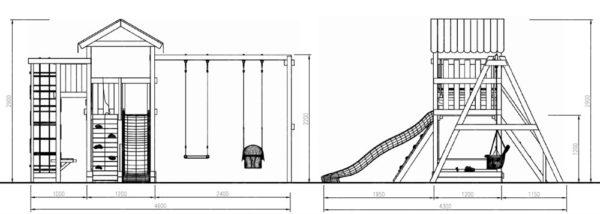 схема площадки мастер 3